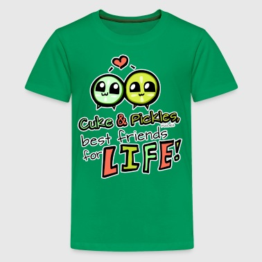 Cuke & Pickles, Best Friends for Life! - Kids' Premium T-Shirt