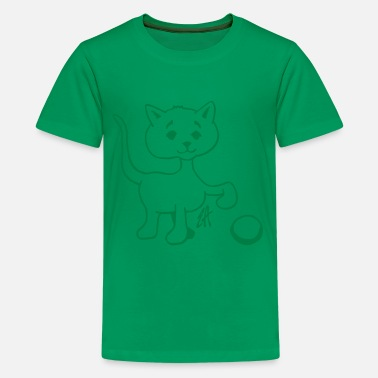 Katte Kitten - Kids' Premium T-Shirt