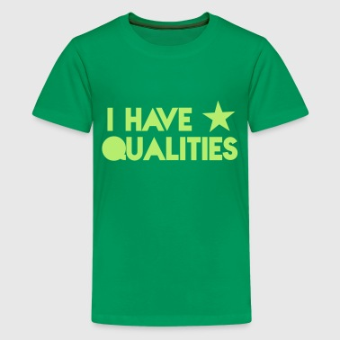 I HAVE STAR stars QUALITIES! in pink - Kids' Premium T-Shirt