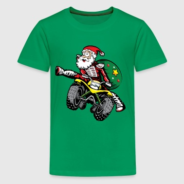 ATV Santa Claus - Kids' Premium T-Shirt