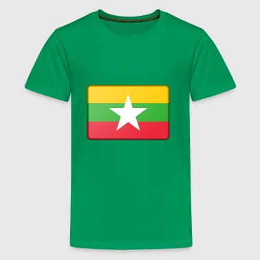 Burma Flag - Kids' Premium T-Shirt