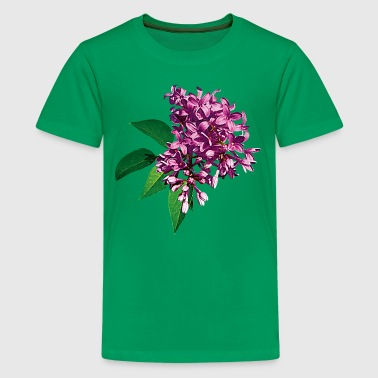 Pink Lilac Clusters - Kids' Premium T-Shirt