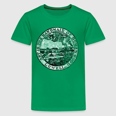 Lowell Mass Massachusetts City Seal - Kids' Premium T-Shirt