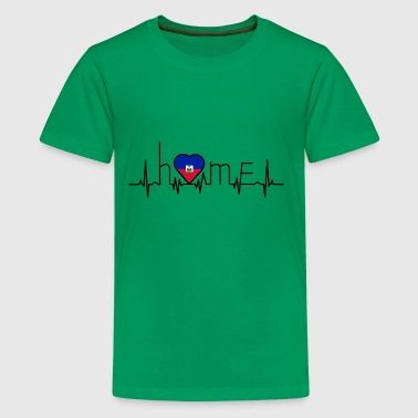i love home Haiti - Kids' Premium T-Shirt