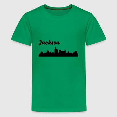 Jackson MS Skyline - Kids' Premium T-Shirt