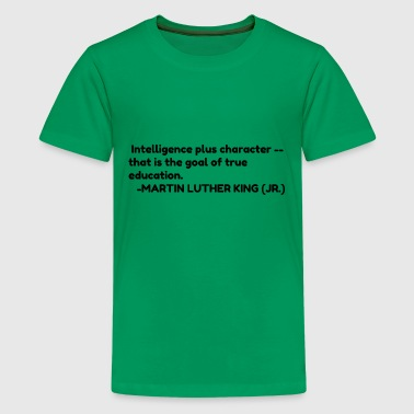 Intelligent Quotes Intelligence - Kids' Premium T-Shirt
