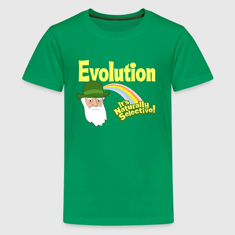 Evolution - it's Naturally Selective! - Kids' Premium T-Shirt