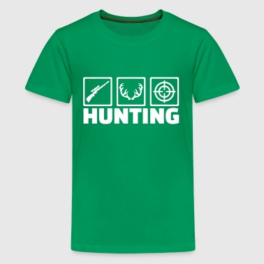 Crosshair Kids & Hunting - Kids' Premium T-Shirt