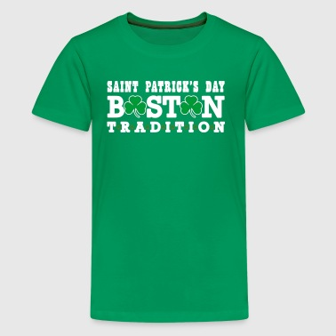 Saint Patrick's Day Boston Tradition Apparel - Kids' Premium T-Shirt