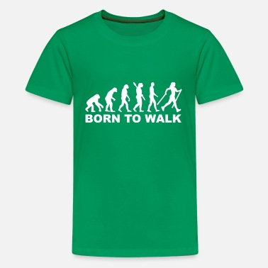 Nordic Nordic Walking - Kids' Premium T-Shirt