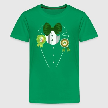 Irish Tuxedo Costume - Kids' Premium T-Shirt