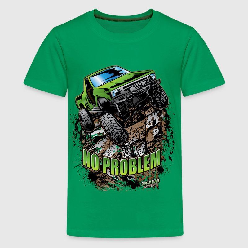 Toyota Rock Crawler Green - Kids' Premium T-Shirt
