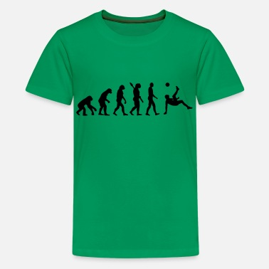 Evolution Evolution soccer - Kids' Premium T-Shirt