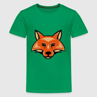 Foxx fox_head_simple_3c - Kids' Premium T-Shirt