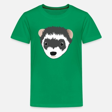 Ferret Face Kids' Ferret Tee - Kids' Premium T-Shirt