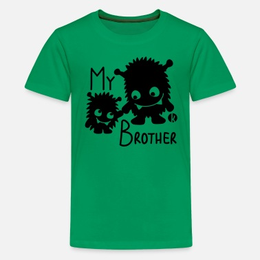 Love My Brother My Brother - Kids' Premium T-Shirt