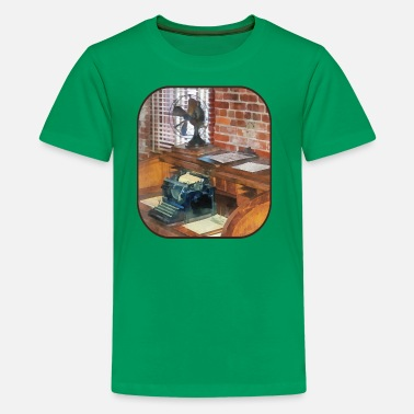 Is This A Train Station Trains - Station Master's Office - Kids' Premium T-Shirt