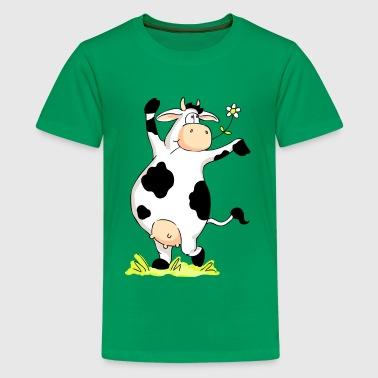 Posing Cow - Kids' Premium T-Shirt