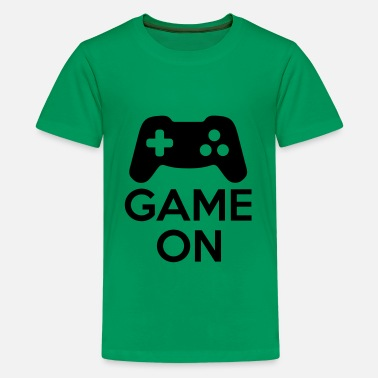 Gamepad Game On - Kids' Premium T-Shirt