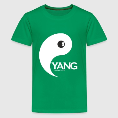 YANG looking for YIN, where is my partner - Kids' Premium T-Shirt
