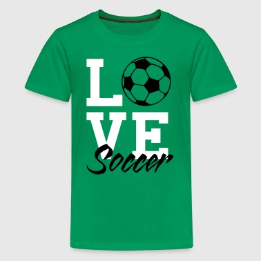 Love Soccer - Kids' Premium T-Shirt