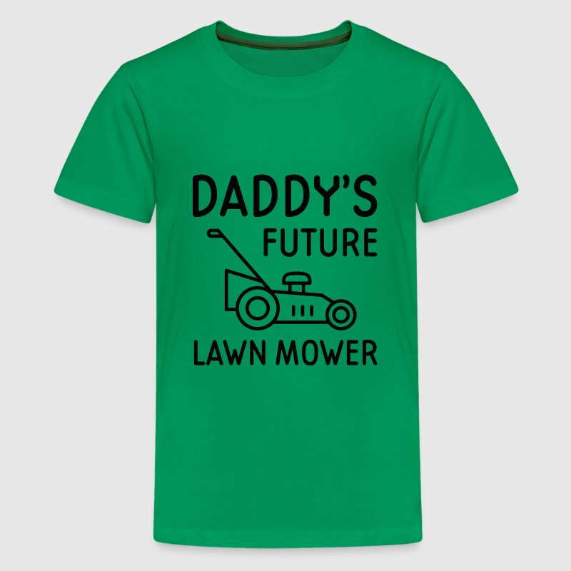 Daddy's Future Lawn Mower - Kids' Premium T-Shirt