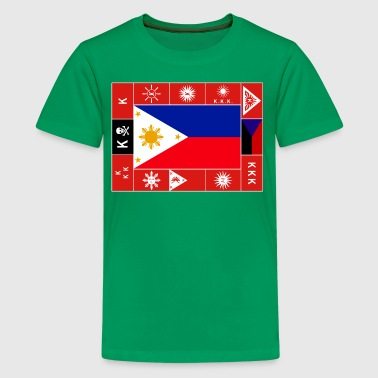 Philippine Flags - Kids' Premium T-Shirt