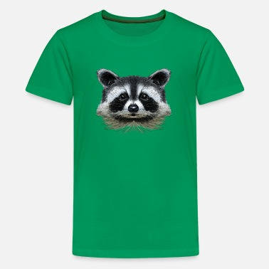 Raccoon racoon - Kids' Premium T-Shirt