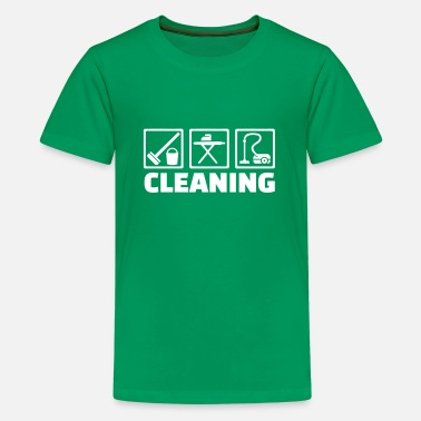 Cleaning Cleaning - Kids' Premium T-Shirt