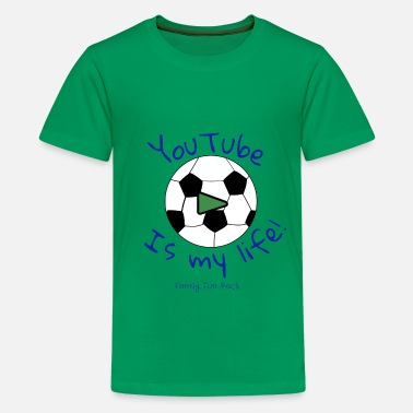 Fun Family Fun Pack (boys shirt) soccer - Kids' Premium T-Shirt