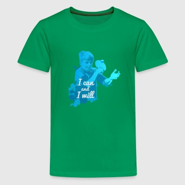 I Can and I Will Shirt Ping Pong for Gift - Kids' Premium T-Shirt