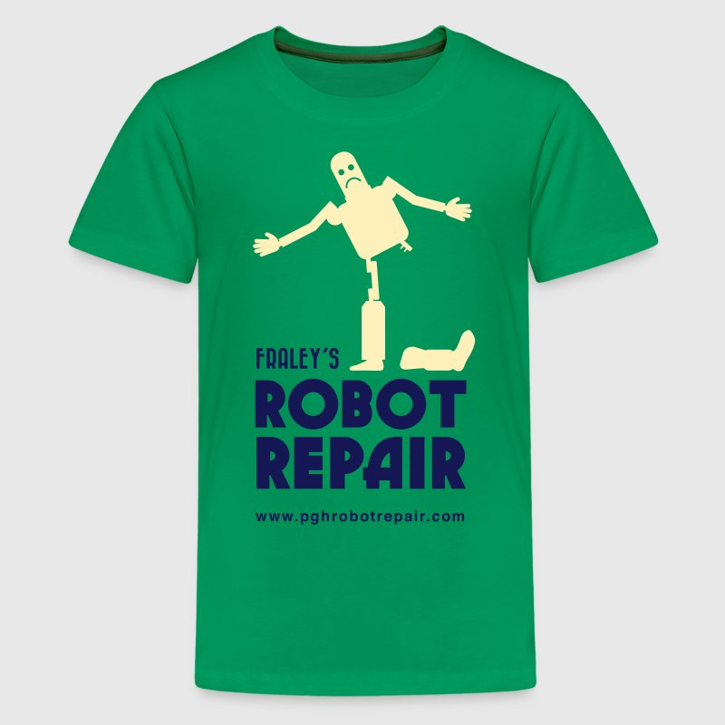 Robot Repair Shop - Kids' Premium T-Shirt