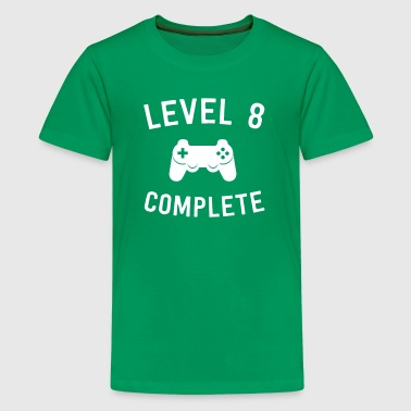 Level 8 Complete - Kids' Premium T-Shirt
