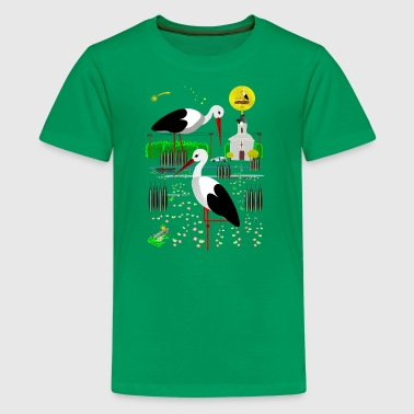 Storks Storks at Home - Kids' Premium T-Shirt