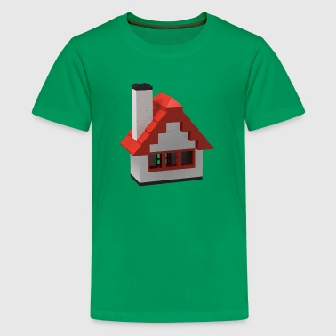 Classic Toy Brick House - Kids' Premium T-Shirt