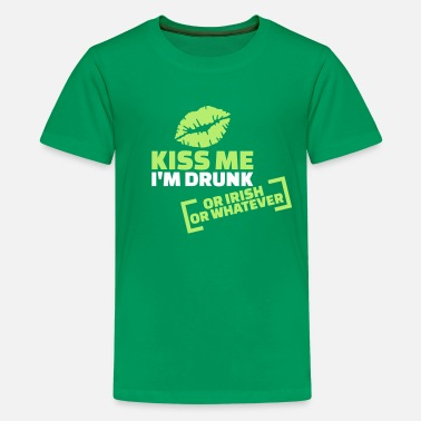 Drinking Kiss me I'm Drunk - Kids' Premium T-Shirt