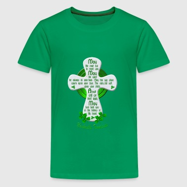 Nashville Irish Blessing Cross - Kids' Premium T-Shirt
