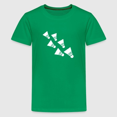 Badminton - Kids' Premium T-Shirt