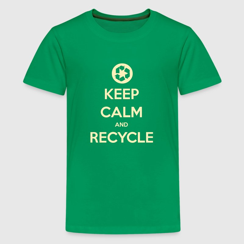 Keep Calm and Recycle - Kids' Premium T-Shirt