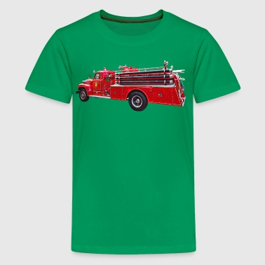 Vintage Pumper Fire Engine - Kids' Premium T-Shirt