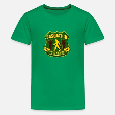 Bigfoot Kids Sasquatch Researcher - Kids' Premium T-Shirt