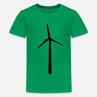 Renewable Energy Wind wheel - Kids' Premium T-Shirt
