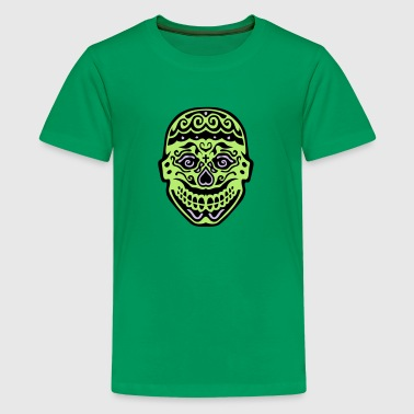 mexican skull dead head 122 - Kids' Premium T-Shirt