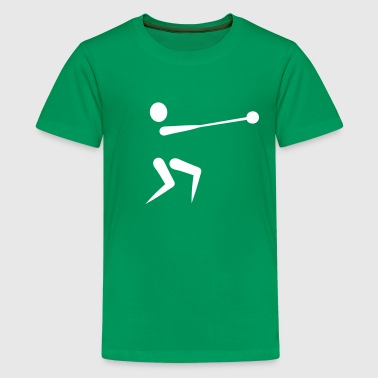 Hammer throw - Kids' Premium T-Shirt