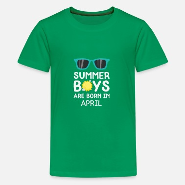 April Boy Summer Boys in APRIL - Kids' Premium T-Shirt