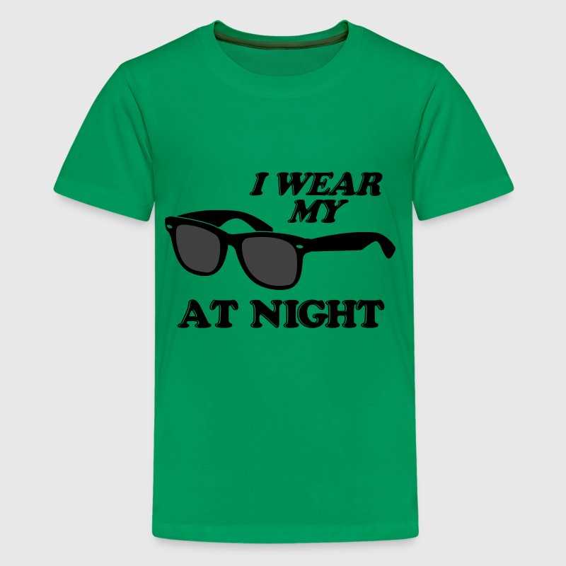 Wear Sunglasses Night - Kids' Premium T-Shirt