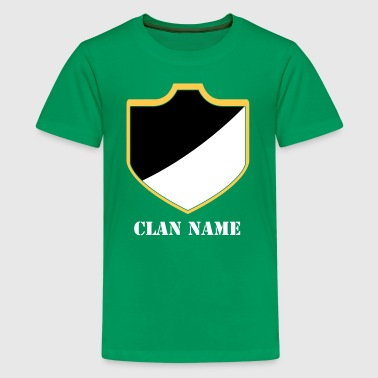 Clash With Your Clans 18 - Kids' Premium T-Shirt