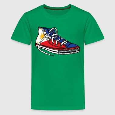 Pinoy Pinoy shoe.png - Kids' Premium T-Shirt