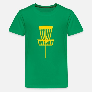 Basket Disc Golf - Kids' Premium T-Shirt