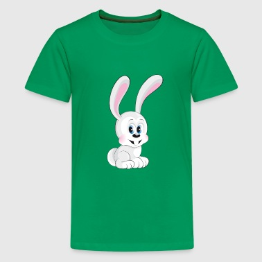 sweet smiling rabbit - Kids' Premium T-Shirt